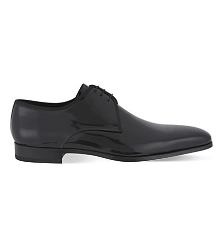 MAGNANNI Patent leather Derby shoes (Black