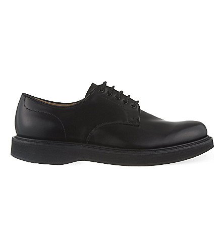 CHURCH Leyton wedge Derby shoes (Black