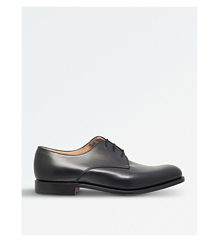 CHURCH Oslo leather Derby shoes (Black