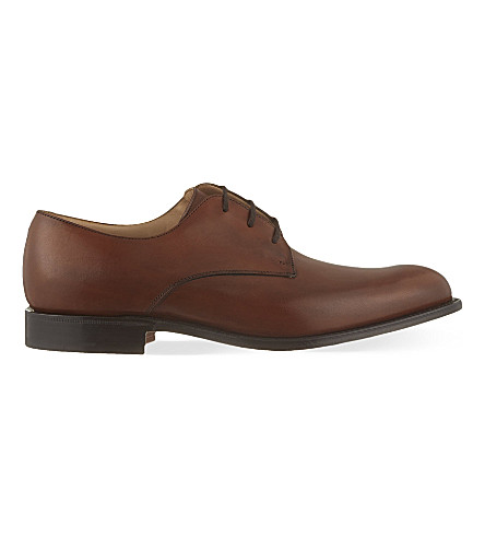 CHURCH Oslo leather Derby shoes (Mid+brown