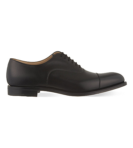 CHURCH Dubai leather toecap Oxford shoes (Black