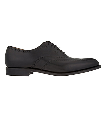 CHURCH Berlin leather wingtip Oxford shoes (Black