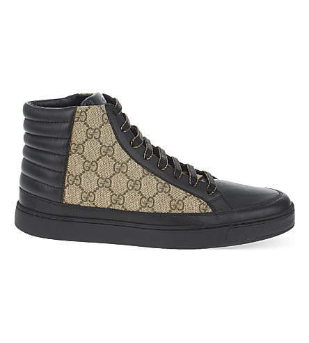 GUCCI Common hi-top trainers (Black