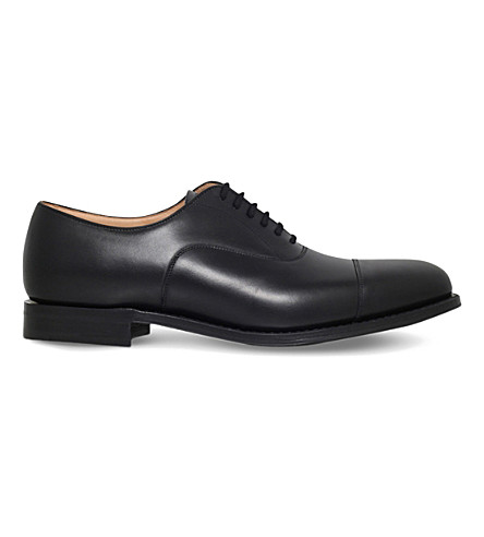 CHURCH Dubai toecap leather Oxford shoes (Black