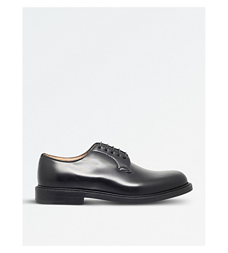 CHURCH Shannon leather derby shoes (Black