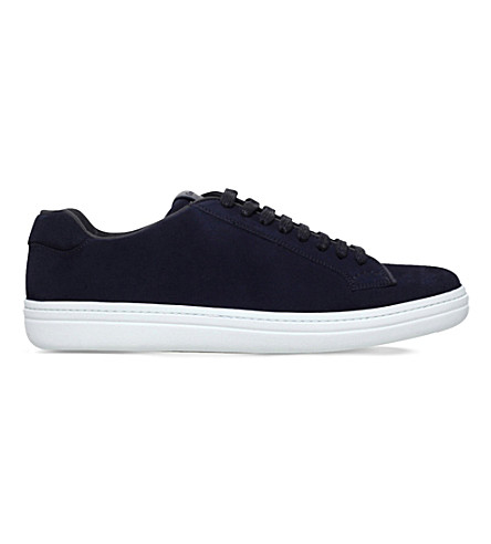 CHURCH Mirfield suede trainers (Navy