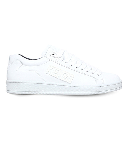 Kenzo Tennix leather sneakers store cheap online official site udW56