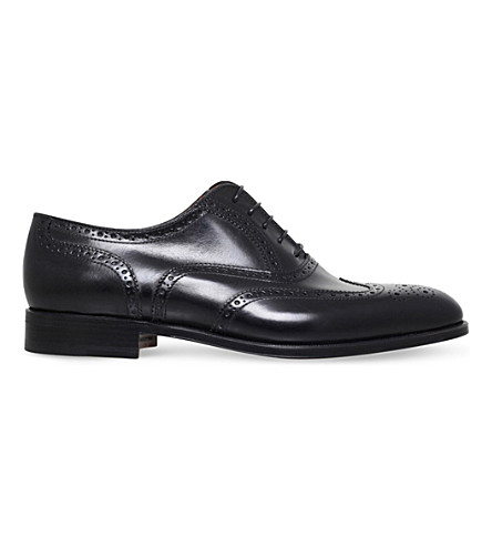STEMAR Wingcap leather Oxford brogues