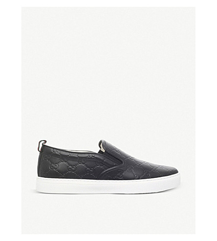 Dublin GG leather skate shoes(5120-10004-8073300109)