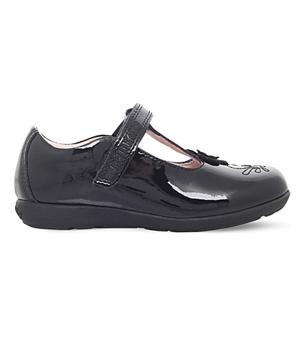 LELLI KELLY Arianna patent leather t-bar shoes (Black