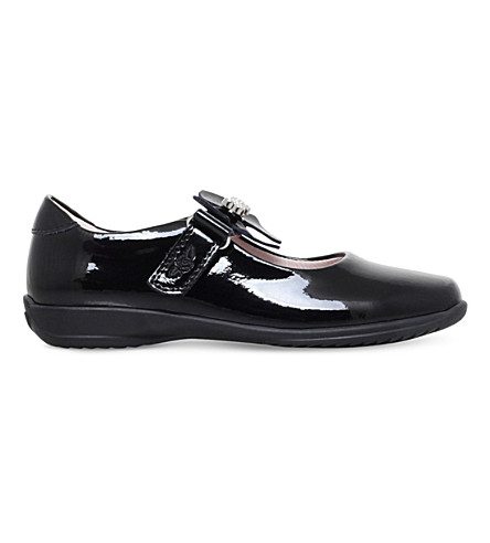 LELLI KELLY Charlotte patent-leather school shoes 3-9 years (Black