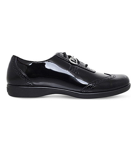 LELLI KELLY Kimberly patent-leather school shoes 6-11 years (Black