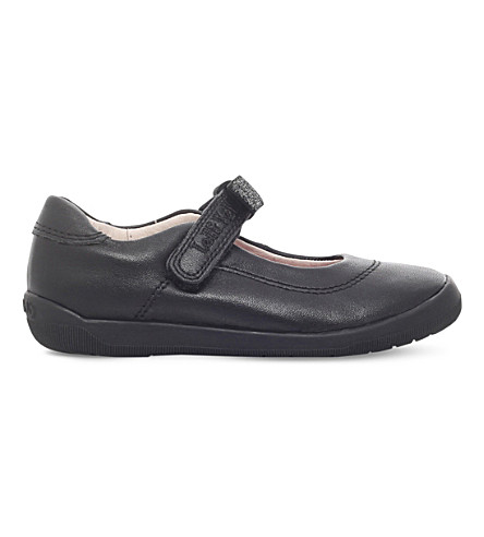 LELLI KELLY Lexis leather school shoes 3-9 years (Black