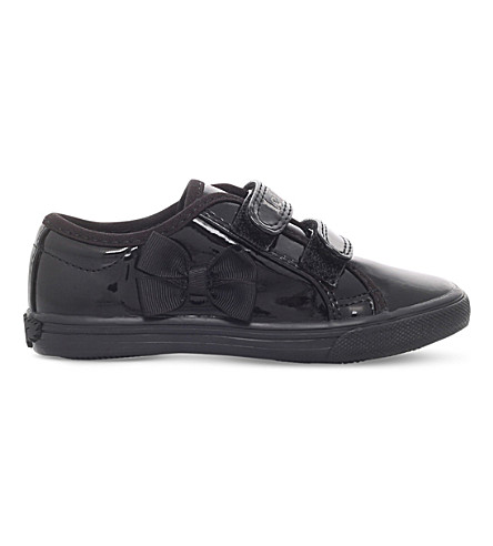 LELLI KELLY Lily patent-leather school shoes 3-9 years (Black