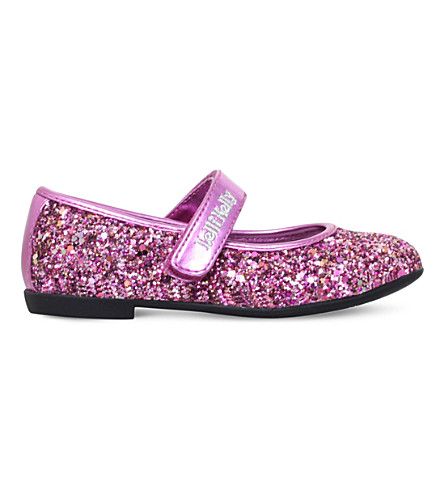 LELLI KELLY Giselle glitter mary jane shoes 4-9 years (Pink