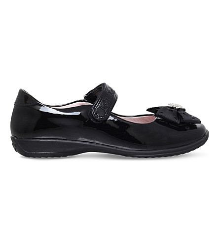 LELLI KELLY Priscilla patent-leather school shoes 3-9 years (Black