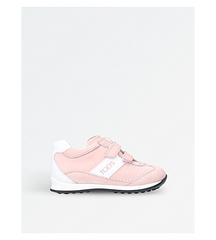 TODS New 0 wave leather trainers (Pale+pink
