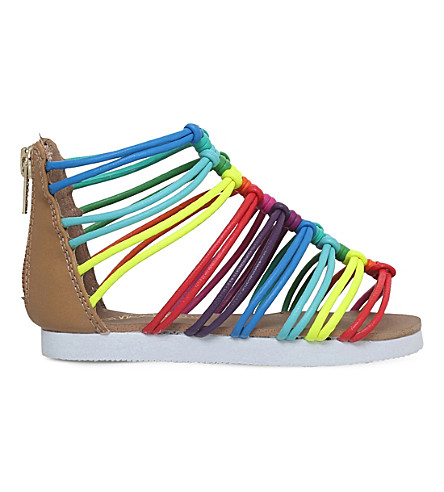 MINI MISS KG Rainbow gladiator sandals 3-7 years (Mult/other