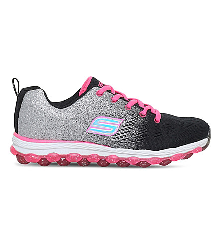 SKECHERS Skech-Air Ultra Glitterbeam trainers 4-10 years (Blk/red