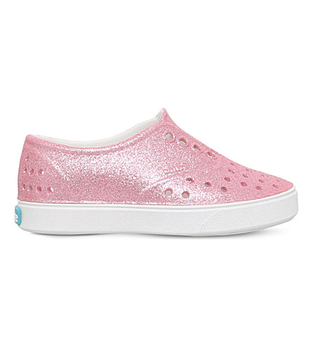NATIVE Miller glitter rubber shoes 2-7 years (Pink