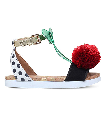 MINI MISS KG 非常樱桃 pom pom 详细金属凉鞋 3-7 岁(多种/其他