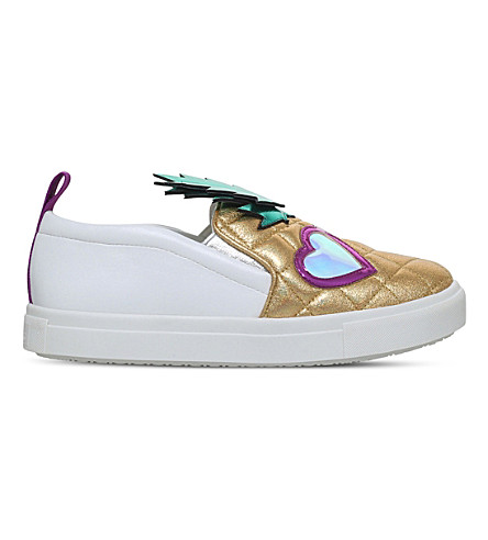 MINI MISS KG Pedro slip-on sneakers 7-10 years (Gold
