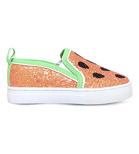 MINI MISS KG Melon glitter sneakers 3-7 years (Pink