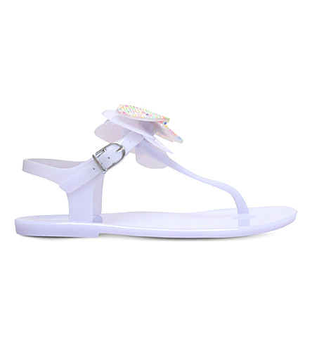 MINI MISS KG Mini dina butterfly jelly sandals 7-10 years (Lilac