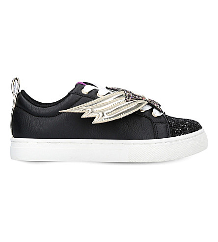MINI MISS KG Superstar low-top trainers 1-7 years (Black
