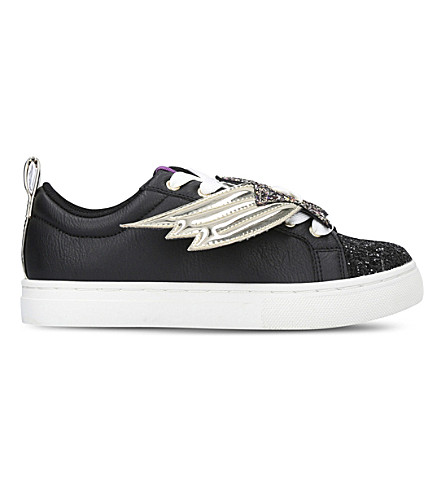 MINI MISS KG Superstar low-top trainers 3-7 years (Black