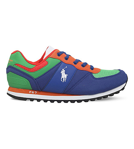 POLO RALPH LAUREN Slaton trainers 8-12 years (Mult/other