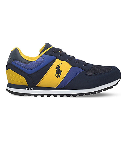 POLO RALPH LAUREN Slaton trainers 8-12 years (Blue+other