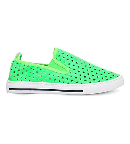 STELLA MCCARTNEY Leo skate shoes 3-10 years (Lime