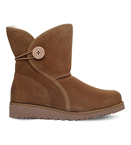 UGG Fabian suede boots 6-9 years (Brown