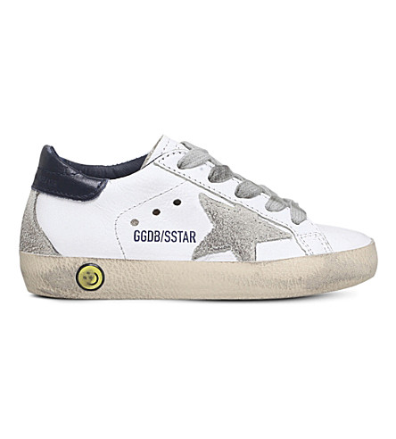 GOLDEN GOOSE Superstar leather trainers 2-5 years (White