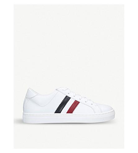 ... MONCLER Monaco leather sneakers (White. PreviousNext 3361166ce99