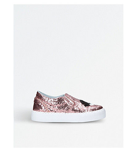 CHIARA FERRAGNI Flirting skate glitter shoes 6-9 years (Pink