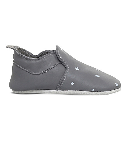 BOBUX Printed leather shoe 6 months - 3 years (Grey