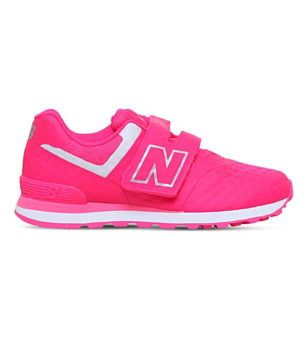 NEW BALANCE 574 welded trainers 6-10 years (Pink
