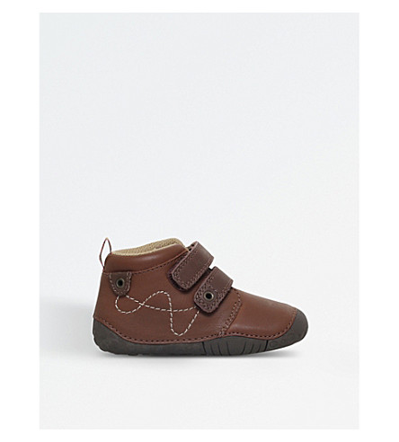 START RITE Noah leather shoes 5 months-1 year (Tan