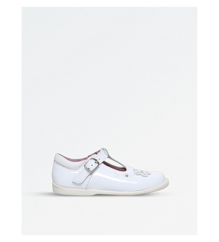 START RITE Sunflower leather t-bar sandals 2-4 years (White