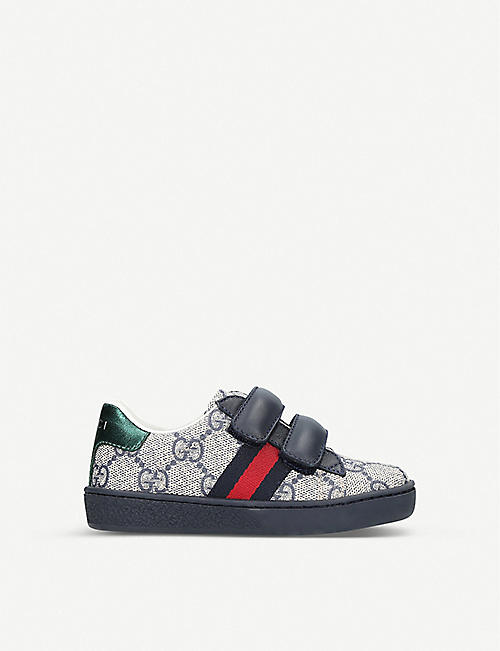 GUCCI New Ace VL trainers 1-4 years a5789793c9