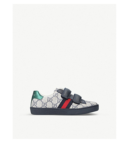 GUCCI New Ace VL trainers 4-8 years (Navy