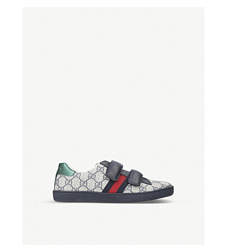 GUCCI New Ace VL trainers 8-11 years (Navy