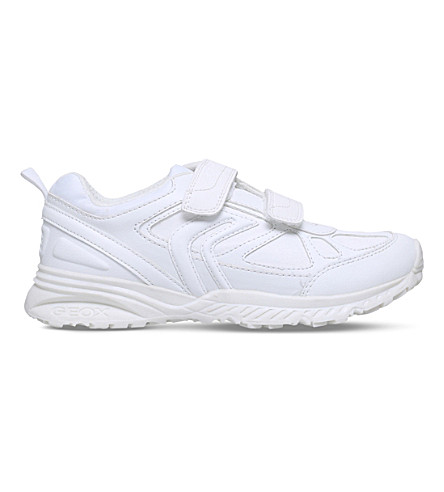 GEOX Bernie panelled trainers 9 - 12 years (White