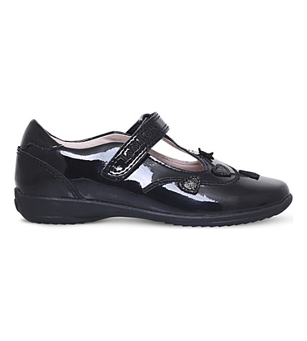 LELLI KELLY Chloe patent leather school t-bar shoes 3-9 years (Black