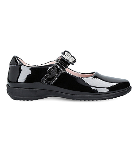 LELLI KELLY Love patent-leather dolly shoes 3-9 years (Black