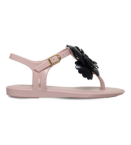 MINI MELISSA Solar flower PVC sandals 6-9 years (Nude