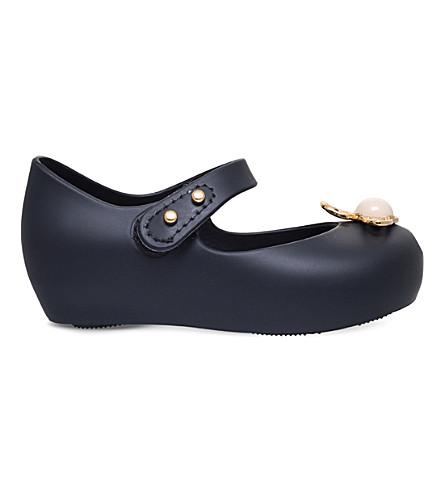 MINI MELISSA Vivienne Westwood Ultragirl orb jelly shoes 1-5 years (Black
