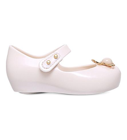 MINI MELISSA Vivienne Westwood ultragirl Orb PVC shoes 1-5 years (Bone